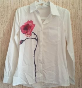 Блузки-рубашки