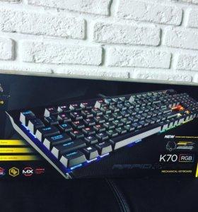 Клавиатура Corsair k70 rgb rapidfire