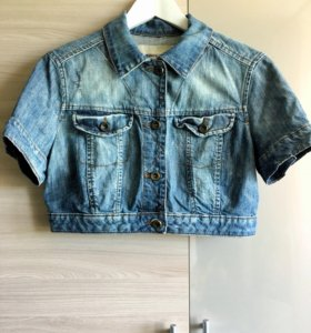 Джинсовая куртка Mango