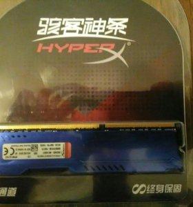 Kingston HyperX Fury 8 gb DDR3 1866 мГц