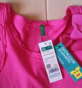 Benetton новая детская блузочка