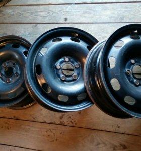 Штампы 15' на VW, Audi,Skoda