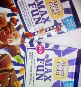 "Шоколад ""Максфан"""