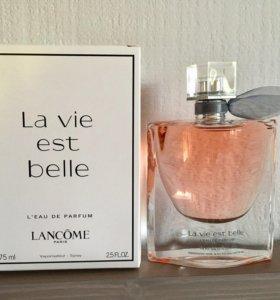 Парфюм Lancome La vie est belle тестер новый 75мл