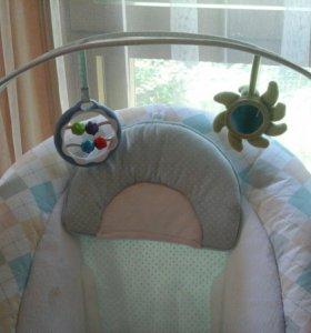 Детский шезлонг Happy Baby Lounger
