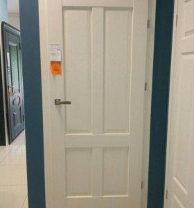 Дверь межкомнатная в комплекте, 80 правая