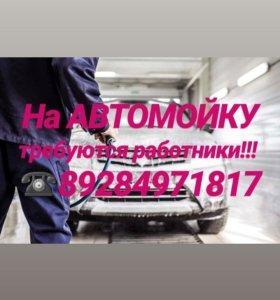 Мойщики(цы) на АвтоМойку