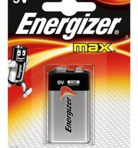 "Батарейка ""крона"" космос/Energizer ""Max"" 9V 6LR61"