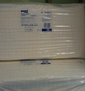 Подгузники для взрослых, на талию 100-150 см