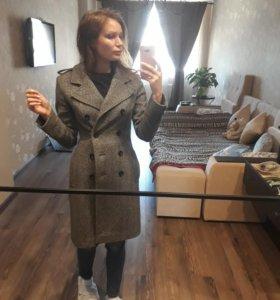 Пальто осенннее шерстяное