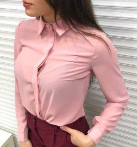 Новая розовая блуза