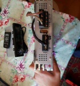Усилитель и магнитофон