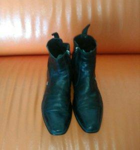Мужские ботинки roberto botticelli.