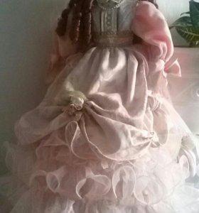 Кукла фарфор ручной работы