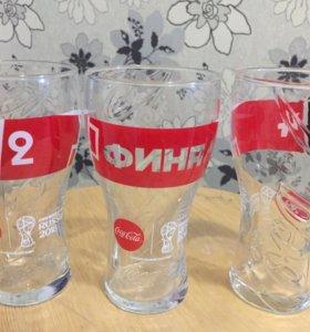 Бокалы Coca Cola