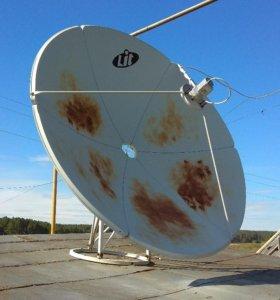Спутниковая тарелка б/у