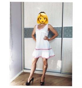 Платье для беременных/кормящих хлопок 42-44 р-р