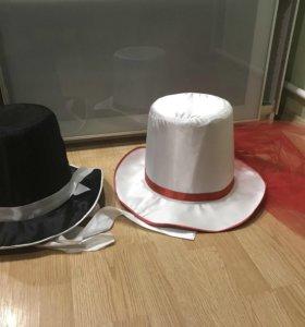 Свадебные украшения на машину. Шляпы