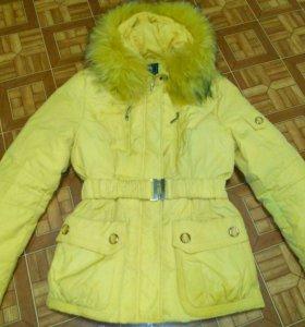 Куртка жёлтая 👍