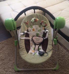 Электрокачель/шезлонг для ребёнка