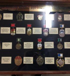 Продам копии значков РЖД 1901-2005г