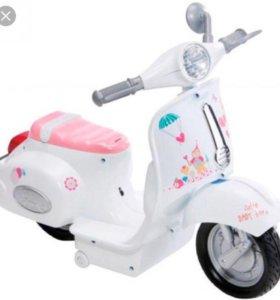 Игрушка мотоцикл для кукол Беби борн