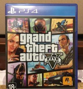 Игра GTA 5 Для PS 4.