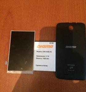 Детали на Digma Linx A400 3G