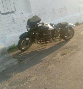 Мотоцикл с двигателем заз