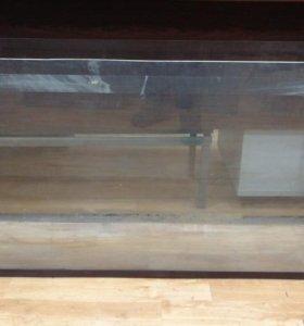 Продаю аквариум 200 литров 130 х 32 х 61. Стекло 8