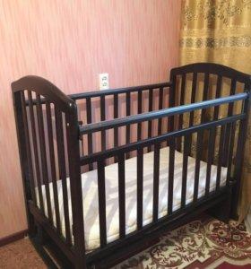 Кровать детская + ортопедический матрас