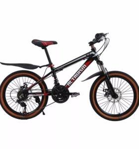 Подростковый велосипед. 120-165см.