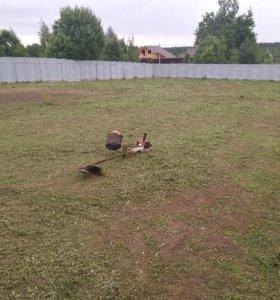Покос травы в Клину и по всему району