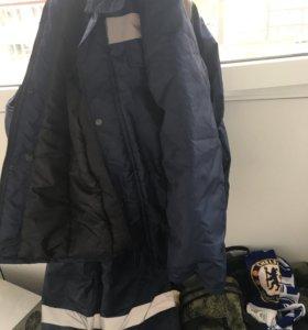 Зимний костюм для рыбалки или работы