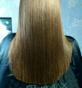 Полировка волос, удаление секущихся кончиков