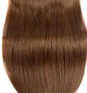 Волосы натуральные лента. 45 см