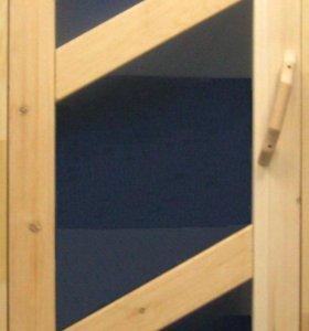Двери банные кедровые
