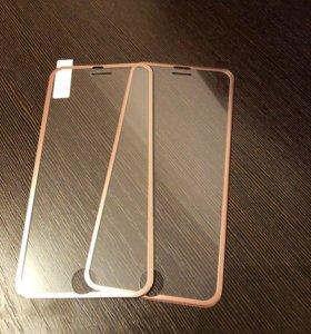 2 стекла на айфон 6S
