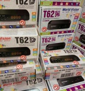 Приставки ТВ Т62 с wi-hi