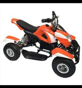 Квадроцикл 24V 250W для детей надувные колеса