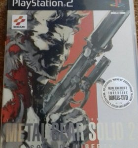 Metal Gear Solid 2: Sons of Liberty для ps2