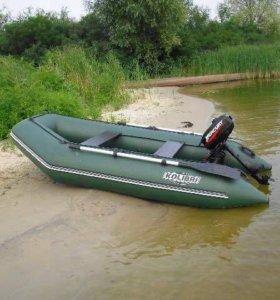 Килевая пвх лодка