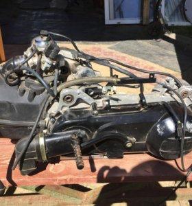 Новый двигатель скутер 150 куб