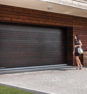 Секционные гаражные ворота 2800*2000