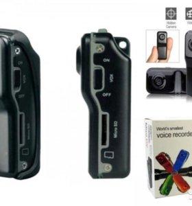 Мини видеокамера MD80 Mini DV DVR новые