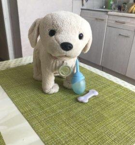 Игрушка интерактивная собака для куклы беби борн