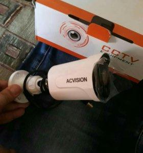 Видеокамеры IP, AHD, 2, 5 Mpx. Регистраторы