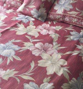Покрывало (комплект с чехлами на подушки)