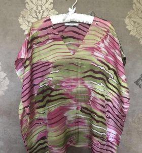 Туника с поясом Max Mara в подарок юбка Kenzo