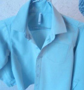 Рубашка для мальчика 122-128